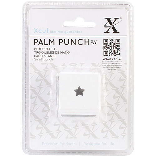 Small Palm Punch-Traditional Star, 3/8""