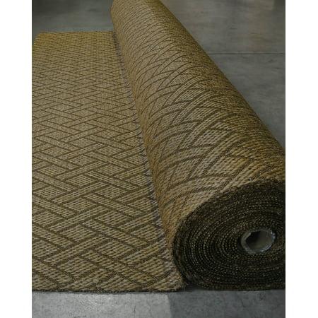 Naturalarearugs Wall To Carpet Broadloom Shanghai Sisal Roll 100 Durable Natural Eco Friendly 13 X 98