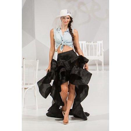 Canvas Print Catwalk Fashion Model Female Style Fashion Show Stretched Canvas 10 x 14