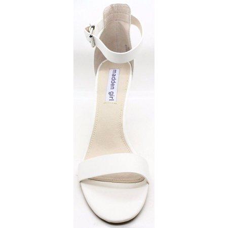 933e4bf2250 Madden Girl - Madden Girl Womens Bay Open Toe Dress Sandal White ...