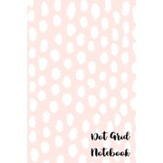 Dot Grid Notebook: 110 Dot Grid Pages (Kawaii Pastel Pink Dots Dotted Pattern) (Paperback)