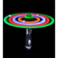 Lumistick LED Flashing UFO Spinning Wand