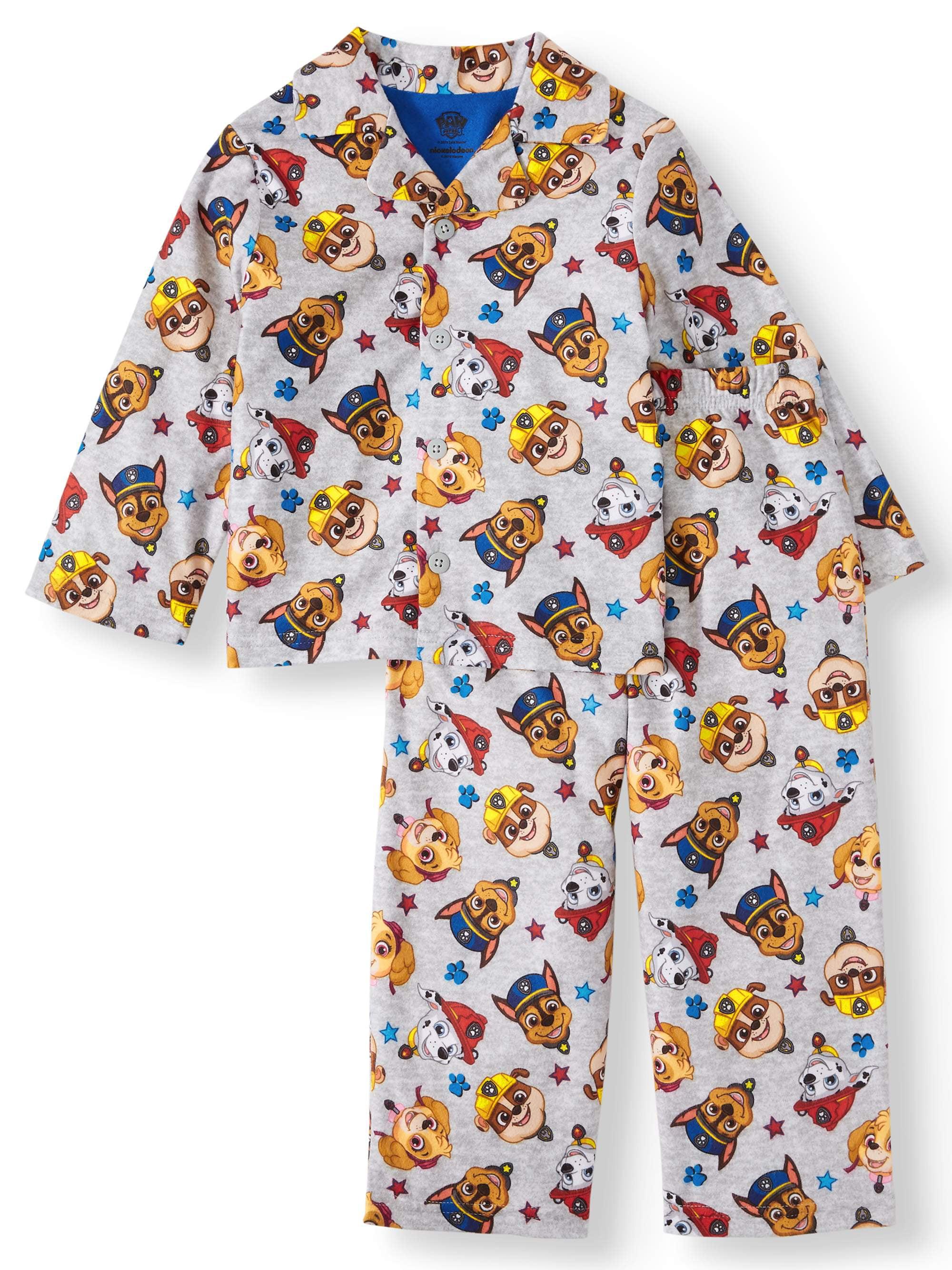 Paw Patrol Character Pyjamas Baby Boys Kids PJs Nightwear 6 9 12 18 24 Months