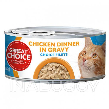 Grreat Choice® Choice Chicken Filets Cat Food (pack of