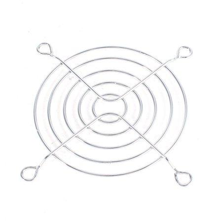 Quad Fan Grill - Unique Bargains Replaceable Finger Guard Metal Grill Protector for 70mm x 70mm Case Fan