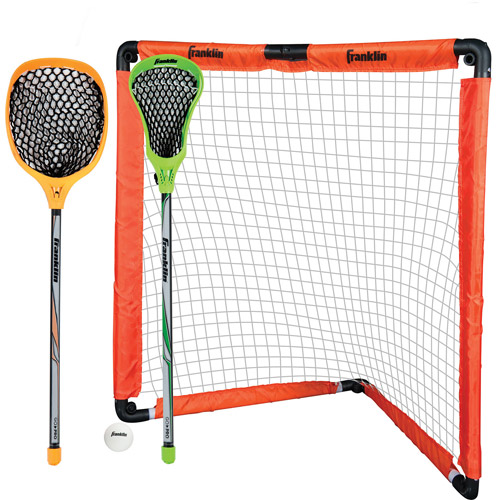 Franklin Sports Youth Lacrosse Goal and Stick Set