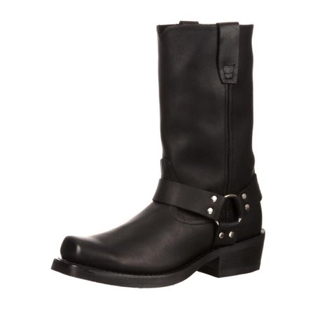 Ladies Western Black Leather Boots - Durango Western Boots Womens 10