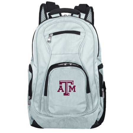 NCAA Texas A&M Aggies Gray Premium Laptop Backpack ()