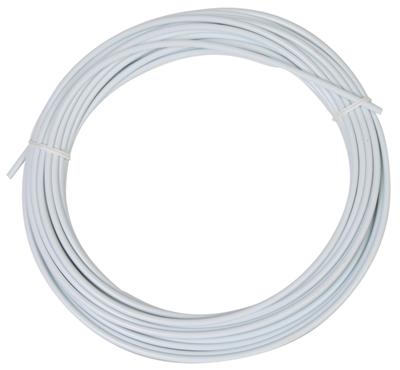Sunlite Lined Cable Housing, 5mmx50ft, White