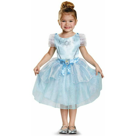 Disney Princess Cinderella Classic Toddler Halloween Costume - Disney World Halloween Party Costume Ideas