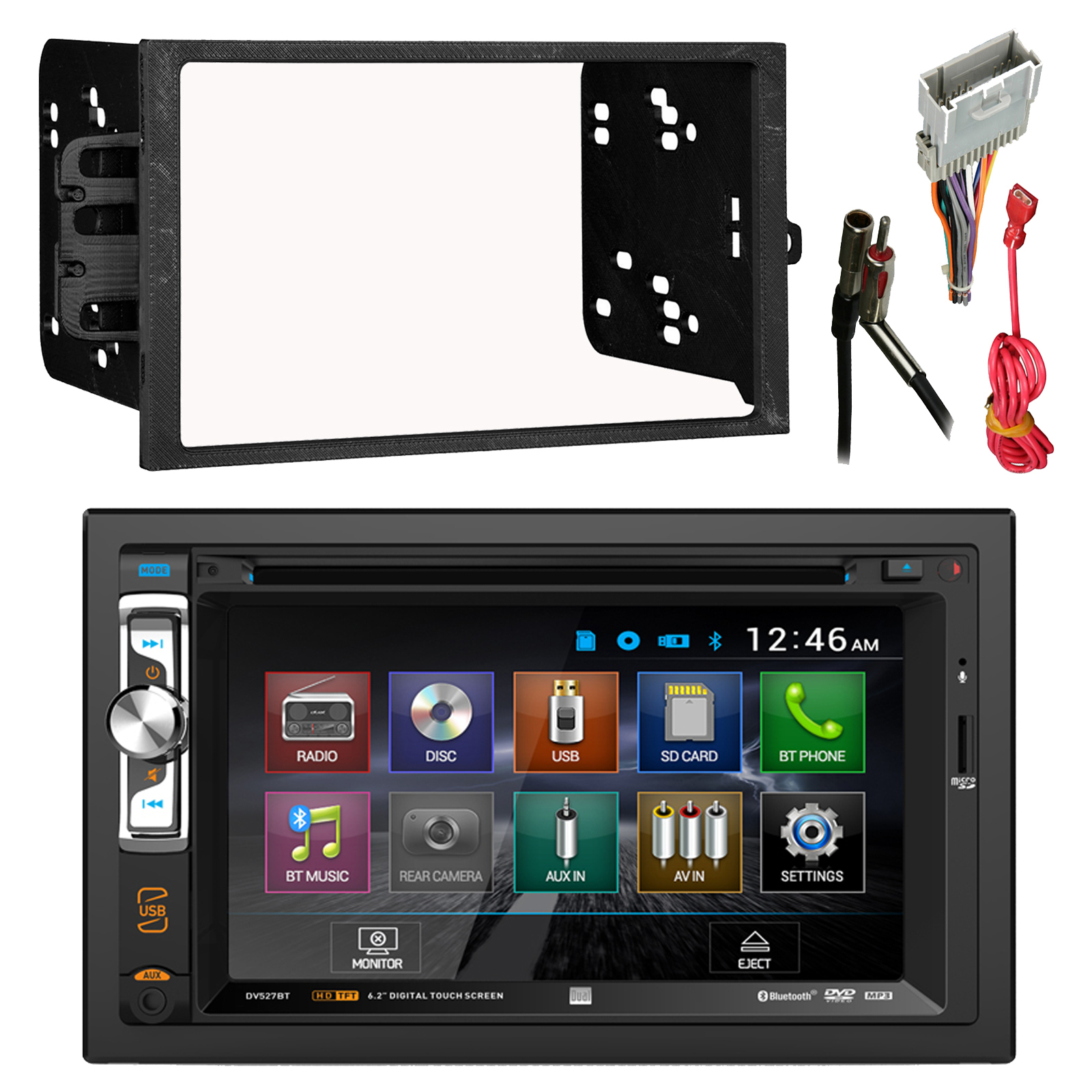 Pyle Double Din Touch Screen Wiring Diagram Will Be Harness Alpha Nav Single 35 Dual