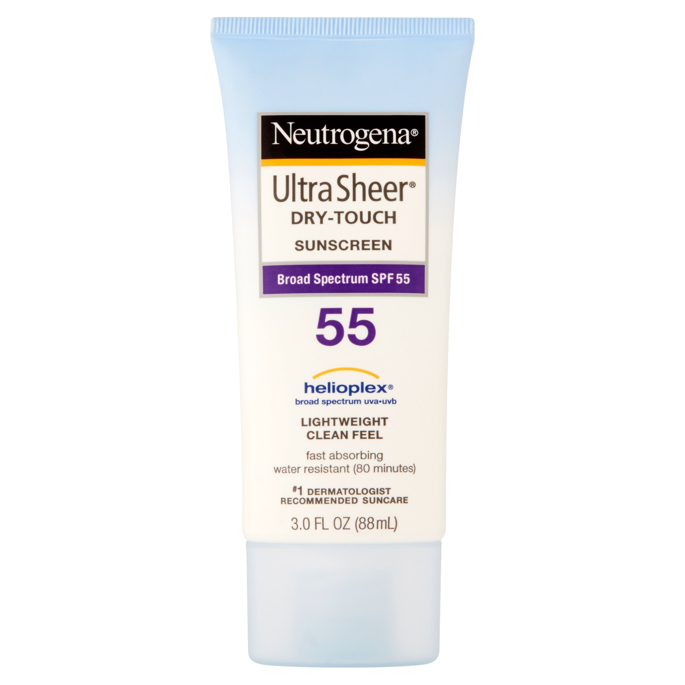 Neutrogena Ultra Sheer Broad Spectrum Sunscreen SPF 55