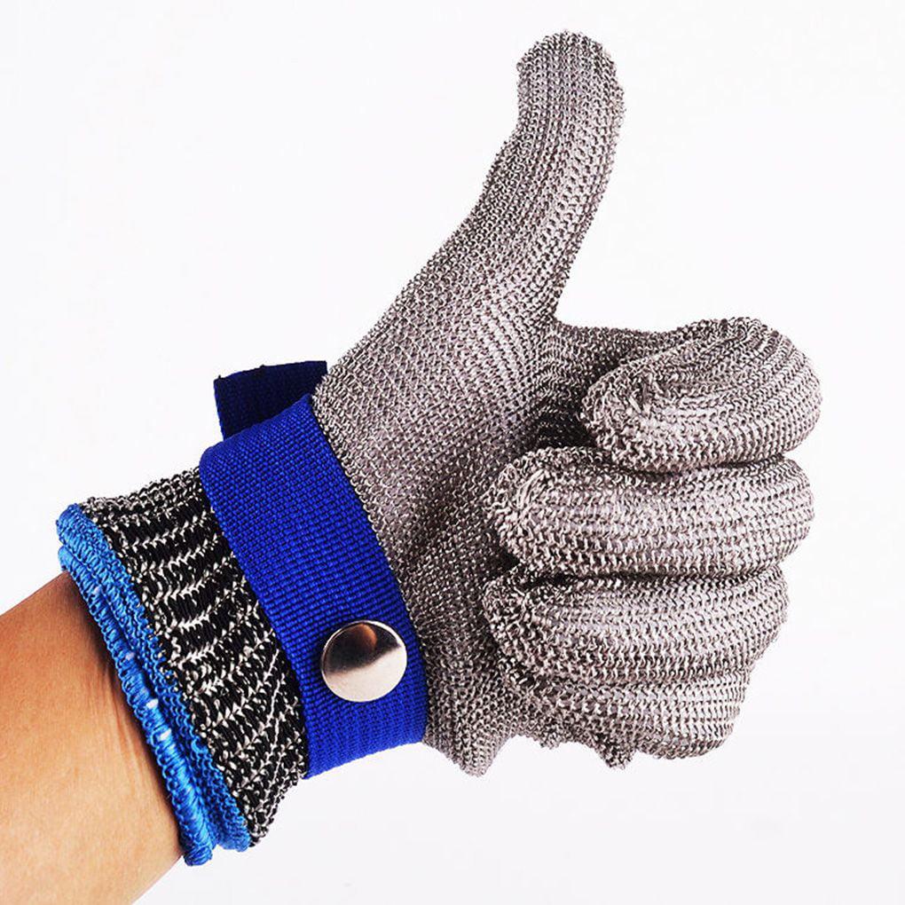 NEW Cut Proof Stainless Steel Metal Mesh Food Grade Kitchen Work Butcher Gloves