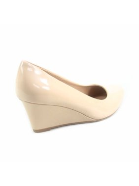 b70271befa3 Product Image Doris-22 Women s Round Toe Patent Wedge Heel Shoes