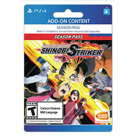 NARUTO TO BORUTO: SHINOBI STRIKER Season Pass, Bandi Namco, Playstation,  [Digital Download]