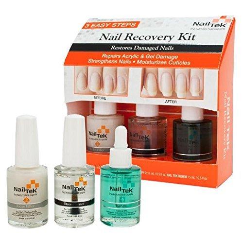 Nail Tek New Restore Damaged Nails Kit, Intensive Therapy II 0.5 fl oz, Found...