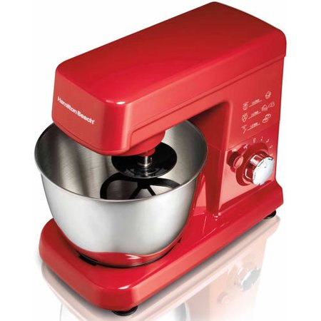 Hamilton Beach 3.5 Quart Orbital Stand Mixer Red | Model# (Holds 10 Mixer)