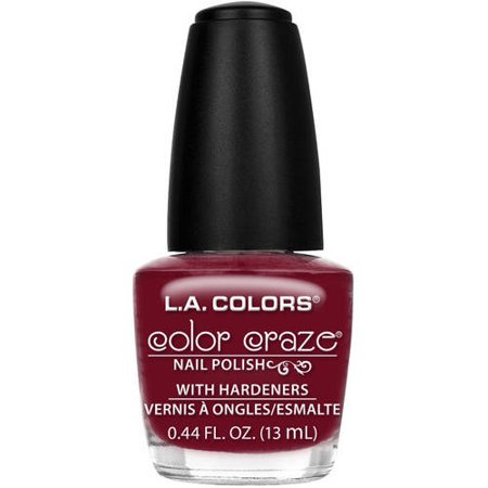 L.A. Colors Color Craze Nail Polish with Hardeners, Transformer, 0.44 fl