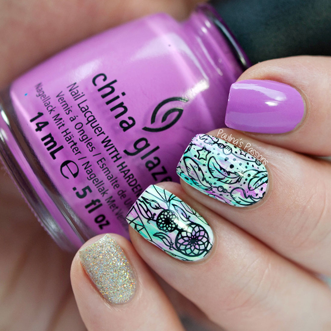 Bundle Monster 10pc Nail Art Polish Manicure Stamping Plates ...