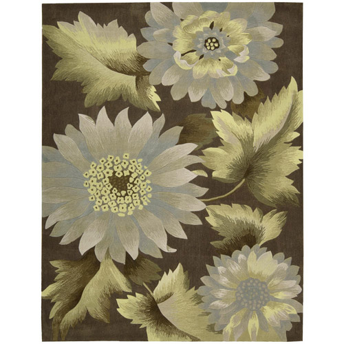 Nourison Field Flowers Transitional Decorative Area Rug
