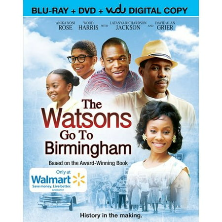 The Watsons Go To Birmingham (Blu-ray + DVD + VUDU Digital Copy) (Walmart  Exclusive)