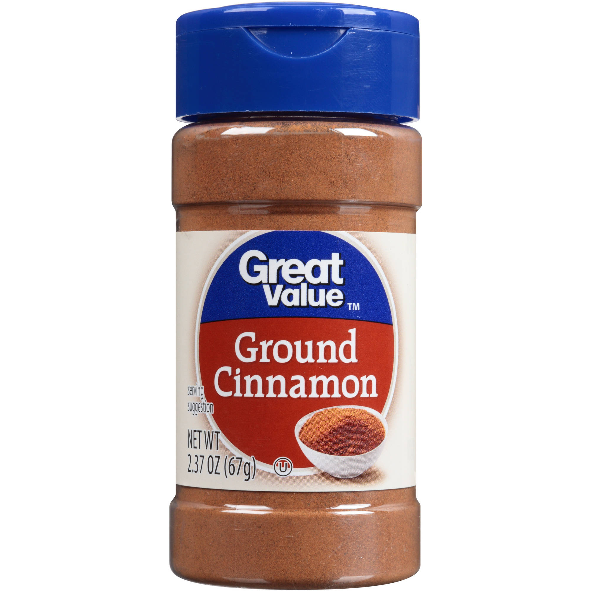 Great Value:  Ground Cinnamon, 2.37 Oz