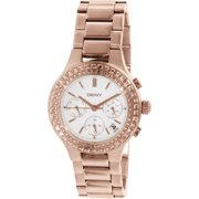 Women's Chambers NY2261 Rose Gold Stainless-Steel Quartz Watch