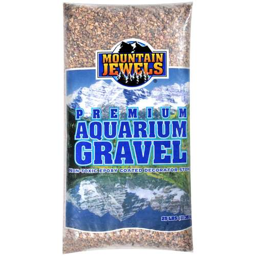 Mountain Jewels: Gravel Aquariums, 25 lbs