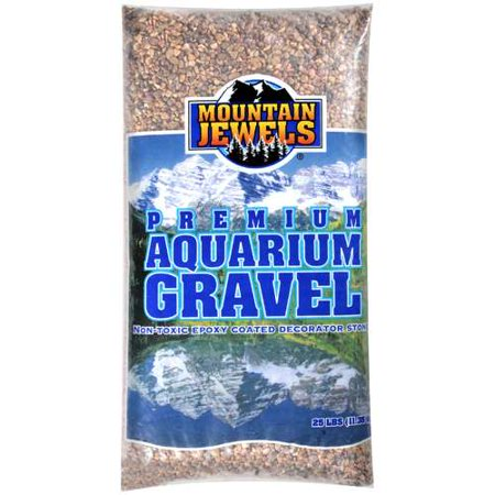 Mountain jewels gravel aquariums 25 lb for Walmart fish gravel