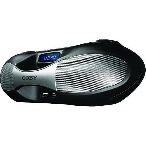 Coby 1 Portable BoomBox MPCD-100-BLK Black