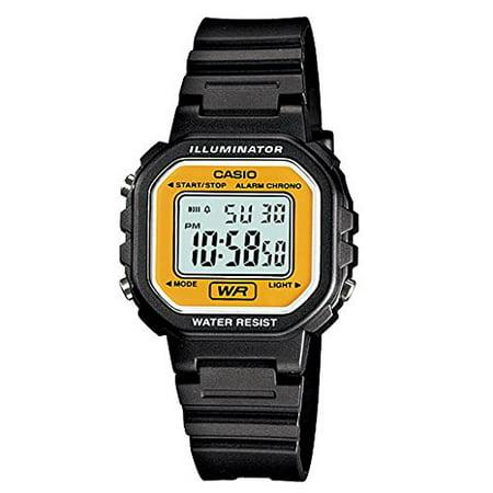 Casio #LA20WH-9A Women's Black Chronograph Alarm LCD Digital Watch ()