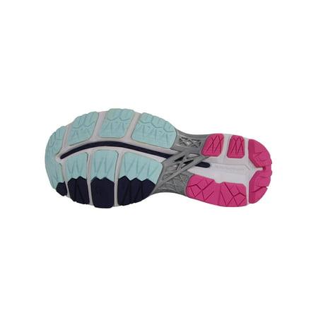 ASICS Women's GEL Kayano 23 Running Shoes (SilverPink, 6)