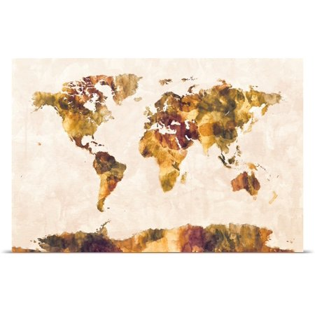 Great Big Canvas Rolled Michael Tompsett Poster Print Entitled Map