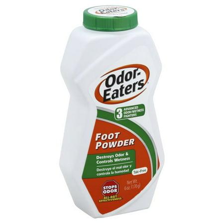 Image of Odor Eaters 6oz Foot Powder, For Odor & Wetness