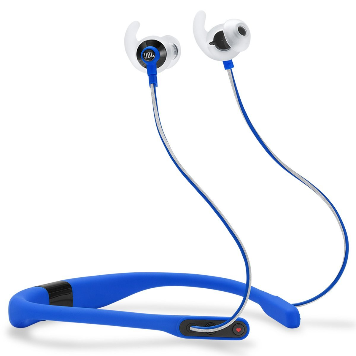 JBL Reflect Fit In-Ear Wireless Headphones with Heart-Rate Monitor (Blue)