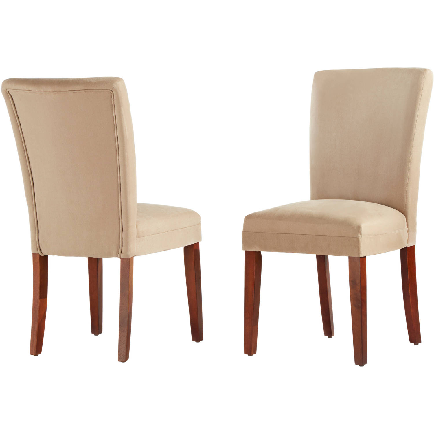 Set Of 2 Parson Dining Chairs, Peat