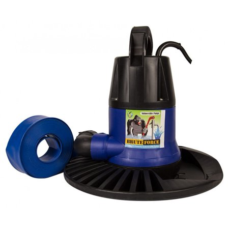 Brute Force 1250 Gph In Ground Above Ground Swimming Pool Cover Pump
