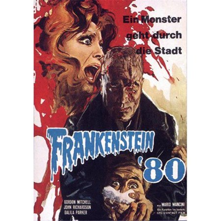 Posterazzi MOV417443 Frankenstein 80 Movie Poster - 11 x 17 in. - image 1 of 1