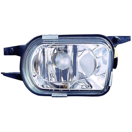 Compatible 2002 - 2007 Mercedes-Benz C230 Fog Light Lamp Assembly Replacement Housing / Lens / Cover - Right (Passenger) Side 203 820 12 56 MB2593106 Replacement For Mercedes-Benz C230