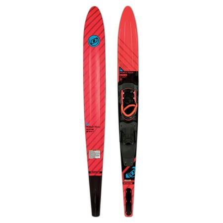 """O'Brien World Team 64"""" Slalom Ski w/Avid XS-S Boots"""