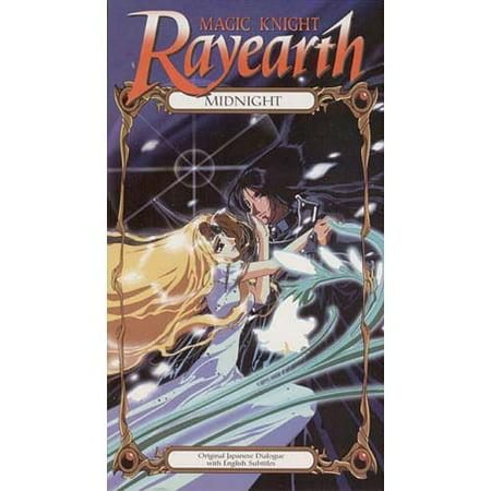 Magic Knight Rayearth (1999) Midnight Anime VHS Tape (Wwe 1999 Vhs)