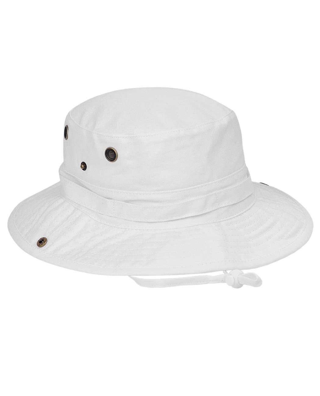 NYFASHION101 Men s Crushable Snap Brim Cotton Outdoor Bucket Sun Hat ... 78bae7fa233