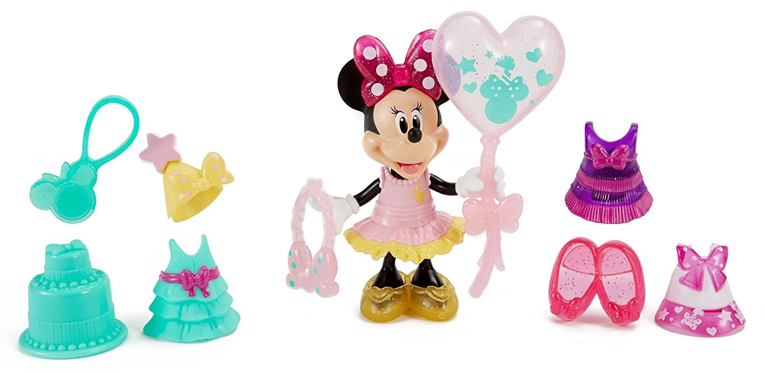 Fisher Price Disney Minnie Birthday Gala Minnie Figure by FISHER PRICE