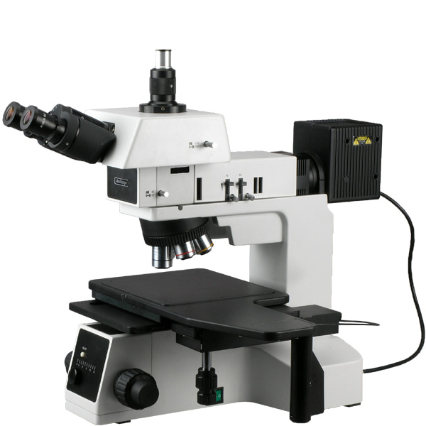 AmScope 50X-1000X Bright / Dark Field Polarizing Metallur...