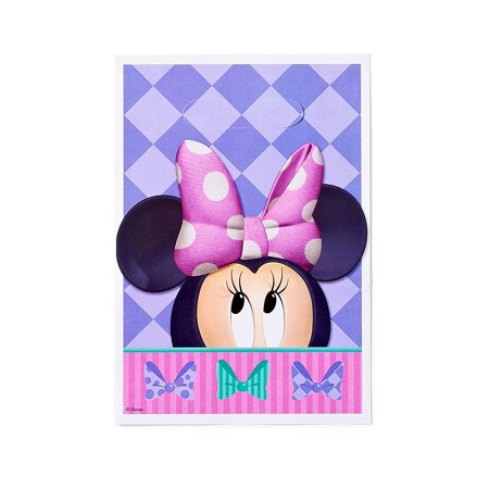 Minnie Mouse Bow Tique Party Treat Bags 8ct