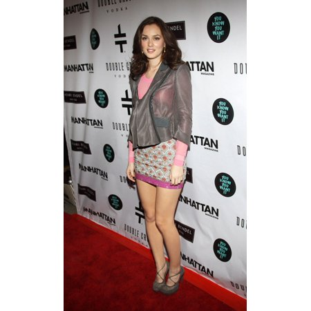 Leighton Meester At Arrivals For You Know You Want It Book Release Launch Party Henri Bendel New York Ny January 12 2010 Photo By Rob KimEverett Collection Celebrity ()