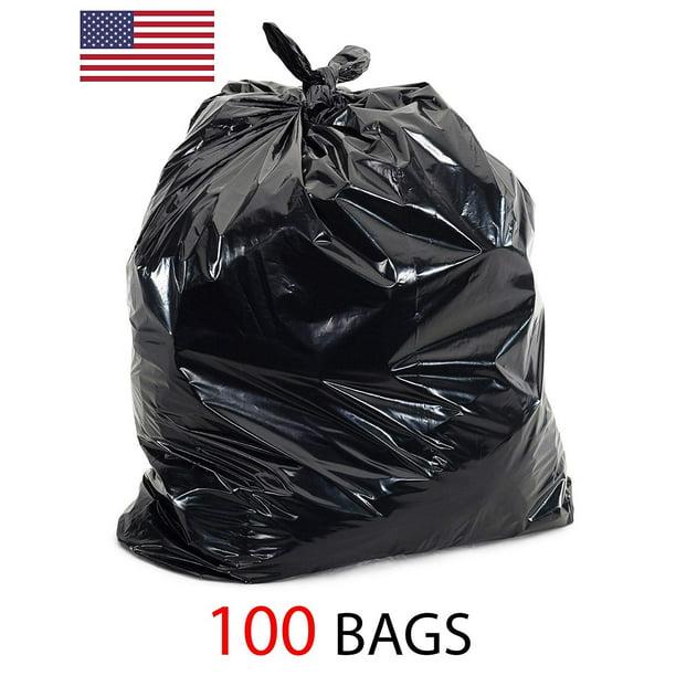 39 Gallon 1 5 Mil Strong Trash Bags