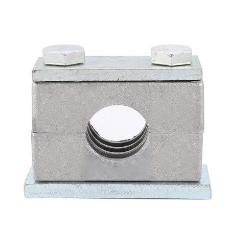 Unique Bargains Heavy Series Pipe Clamp Single Assembly Aluminium Fit 25mm Tube Diameter
