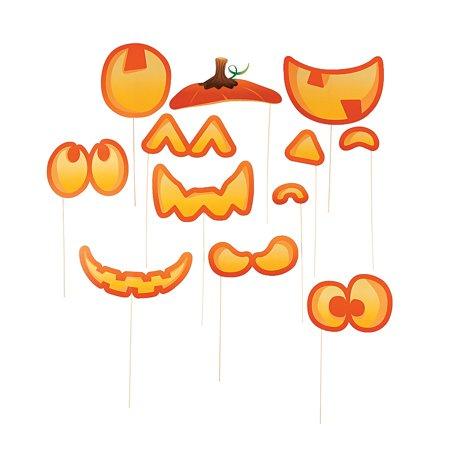 IN-13745150 Cute Pumpkin Photo Stick Props By Fun Express - Pumpkin Express