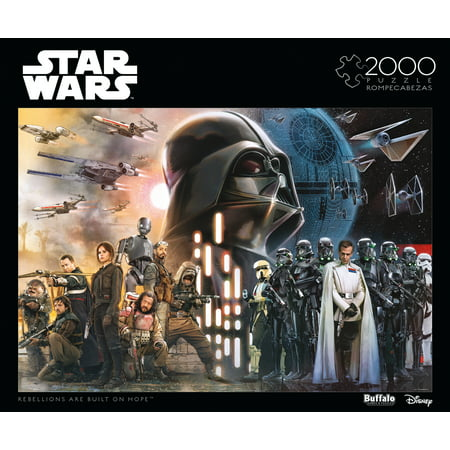 Star Wars Puzzle (Buffalo Games 2000 Piece Puzzle, Star Wars:  Rebellions Are Built On)